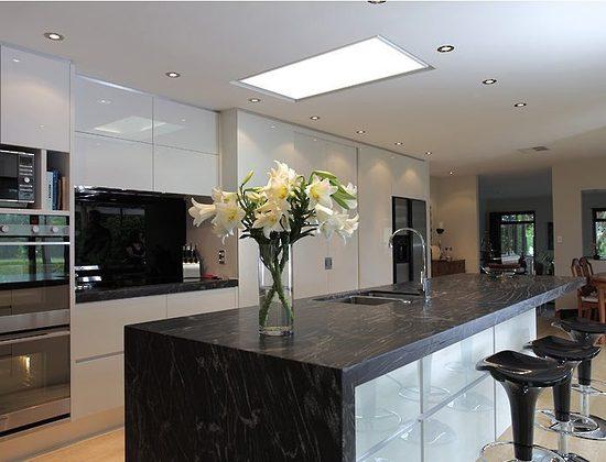 Kitchen Ideas Cosmic Black Granite
