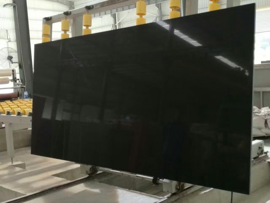 Pure Black Quartz Worktops